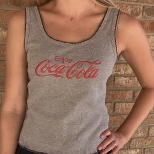Coca-Cola Ribbed Tank Top